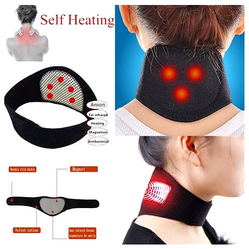 Magnetic Therapy Neck Massager Self-Heating Neck Massage Pain Relieve Neck