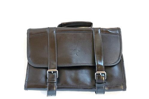 Premium PU Leather Hanging Travel Bag for Men
