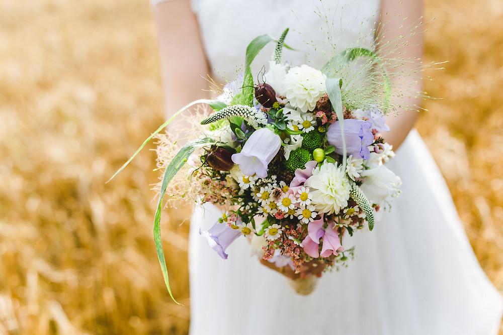 Hochzeitsfotograf Frankfurt Brautstrauß
