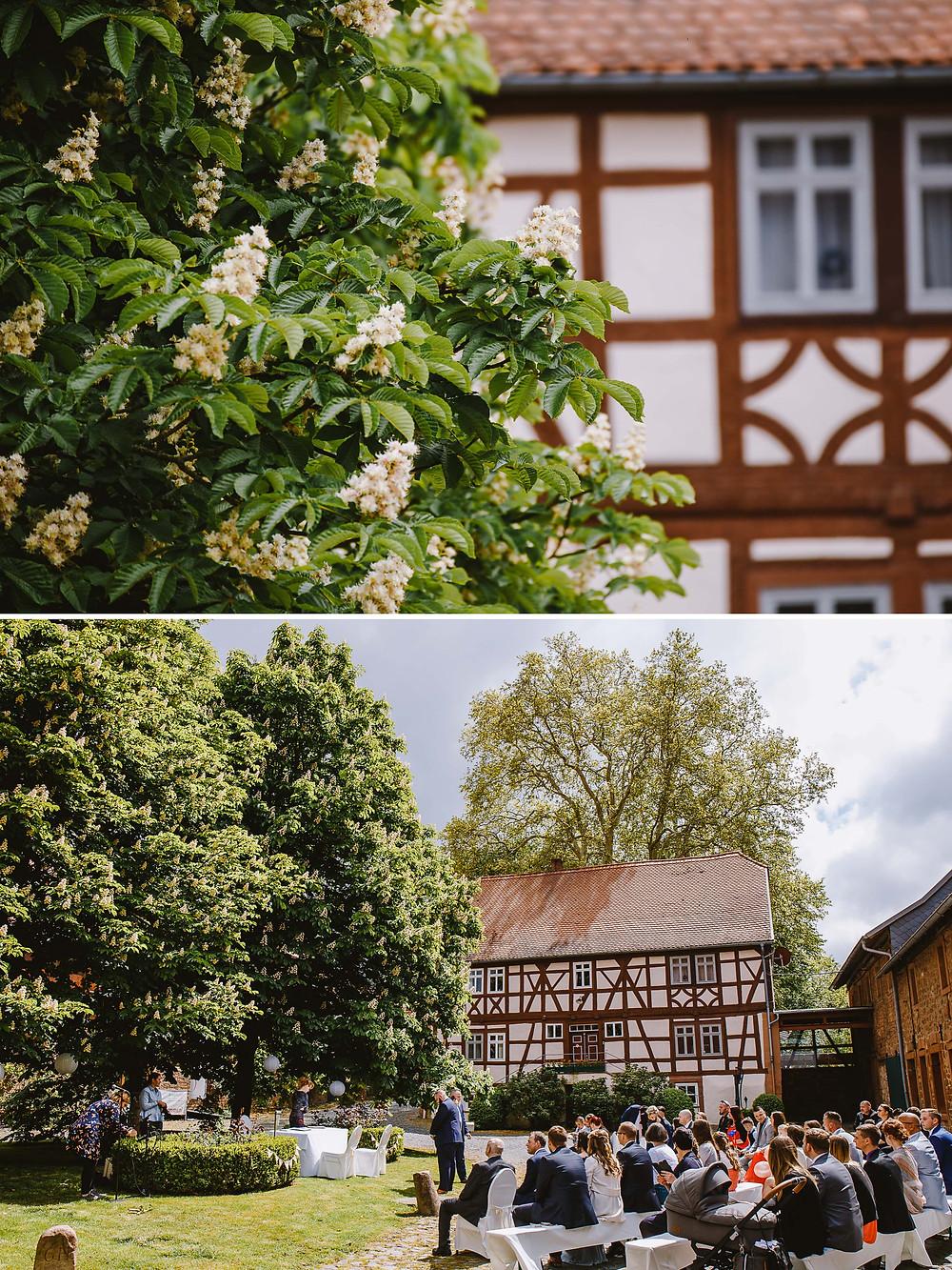 Hochzeit Hofgut Hühnerhof Gründau
