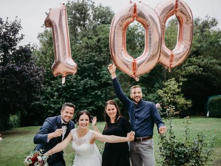 100 Hochzeiten