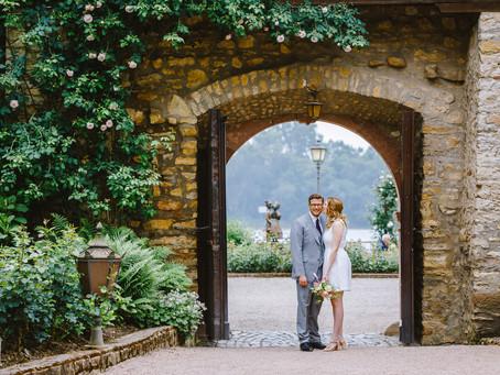 Hochzeit in der Burg Eltville am Rhein