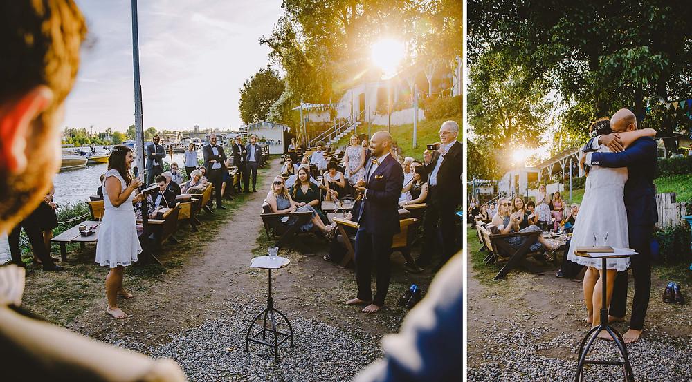 Hochzeit Blaues Wasser Frankfurt