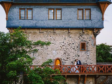 Hochzeitsreportage auf Schloss Romrod