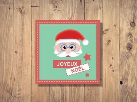 Printable - Carte de Noël