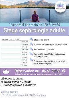 stage sophrologie adulte samantha leca m