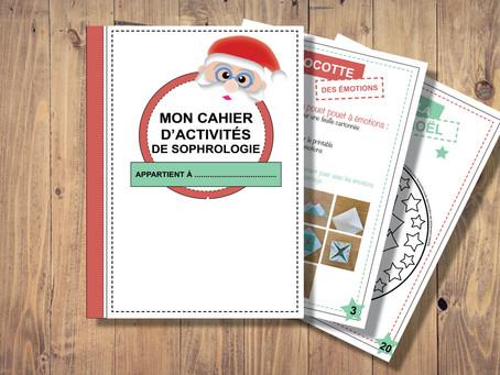 Printable - Cahier d'activités de Noël