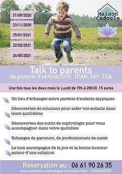 stage sophrologie talk parents samantha