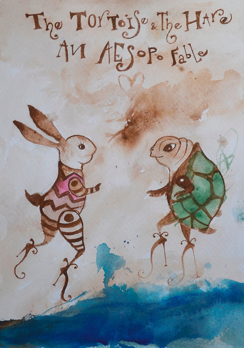 The Tortoise & the Hare for Solo Piano Sheet Music
