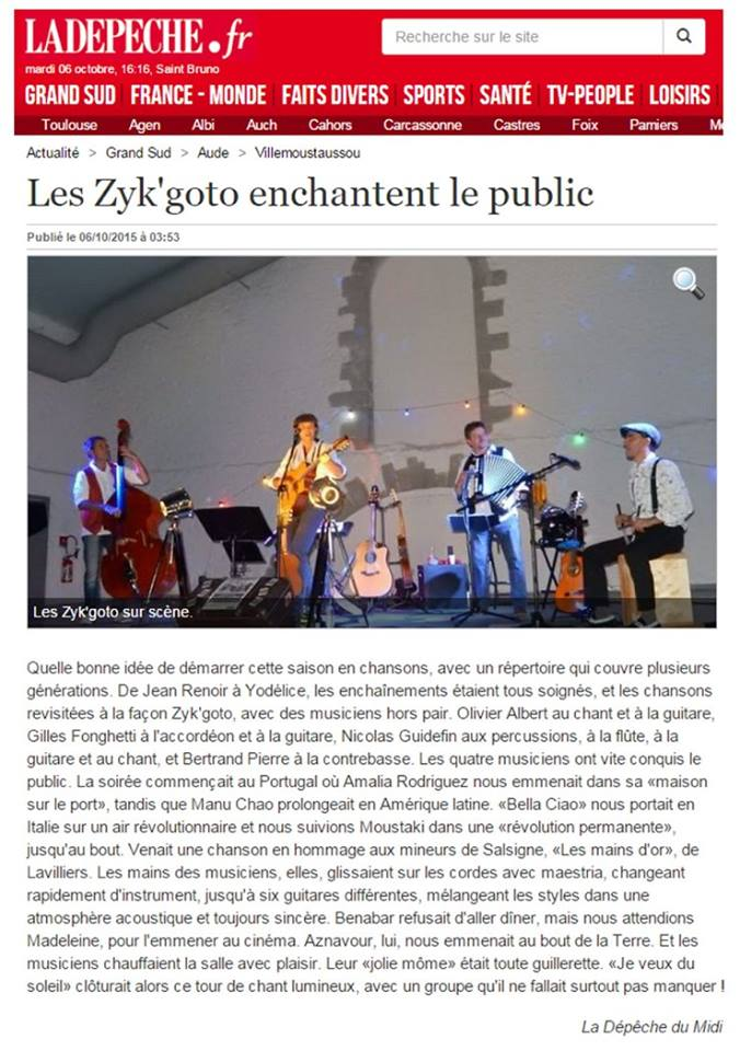 Les ZiK'Goto