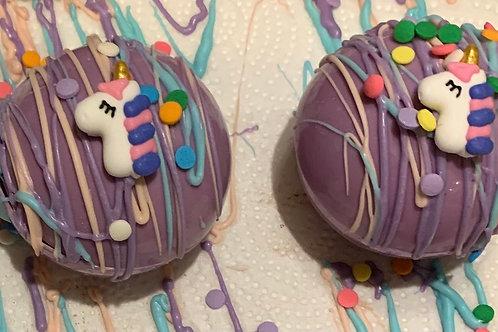Hot chocolate bomb- unicorn