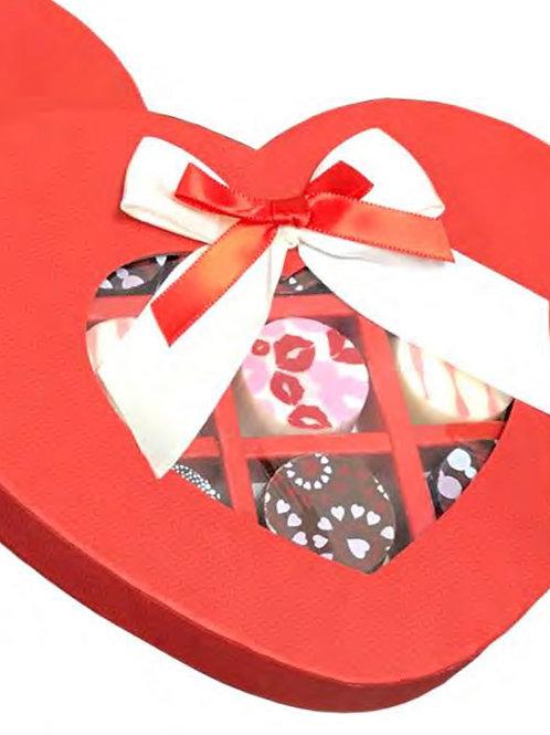 Chocolate Heart Truffle Box