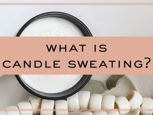 Are your candles sweating too much in summer?