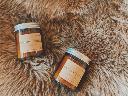 Why does soy candles not smell as strong as Paraffin wax candles?