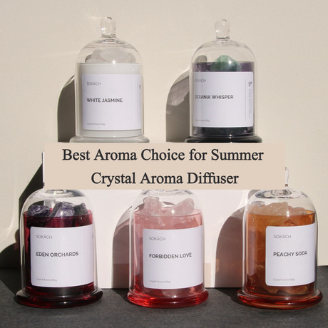 Best Aroma Choice for Summer -- Crystal Aroma Diffuser