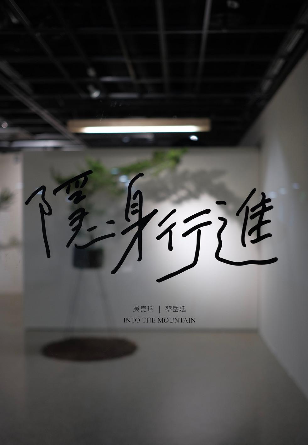 吳崑瑞 蔡岳廷 / 隱身行進 - 策展