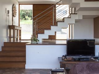 Casa Projeto Arquitetônico - Terreno em declive e muita natureza!