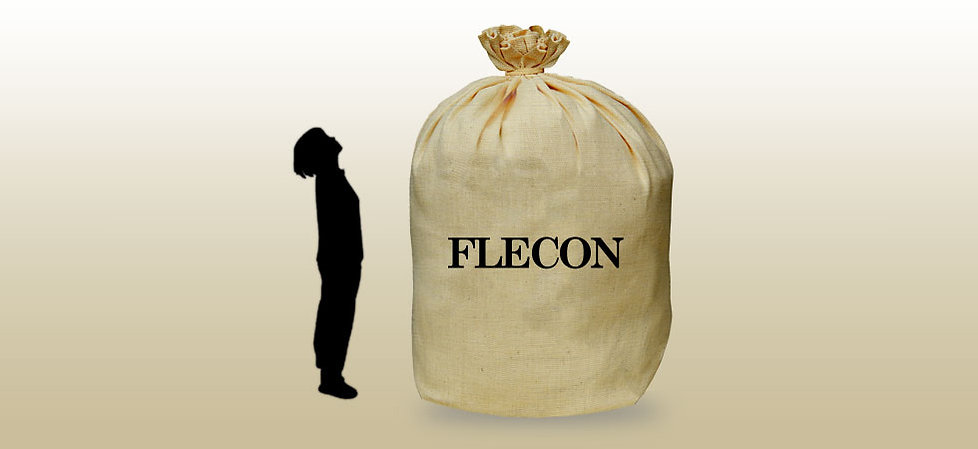産業用包装資材、フレコンのイメージ