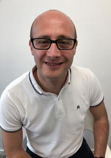 Raphaël Jesierski Réflexologue au cabinet paramédical de witry lès reims