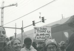 Women's March, Atlanta.