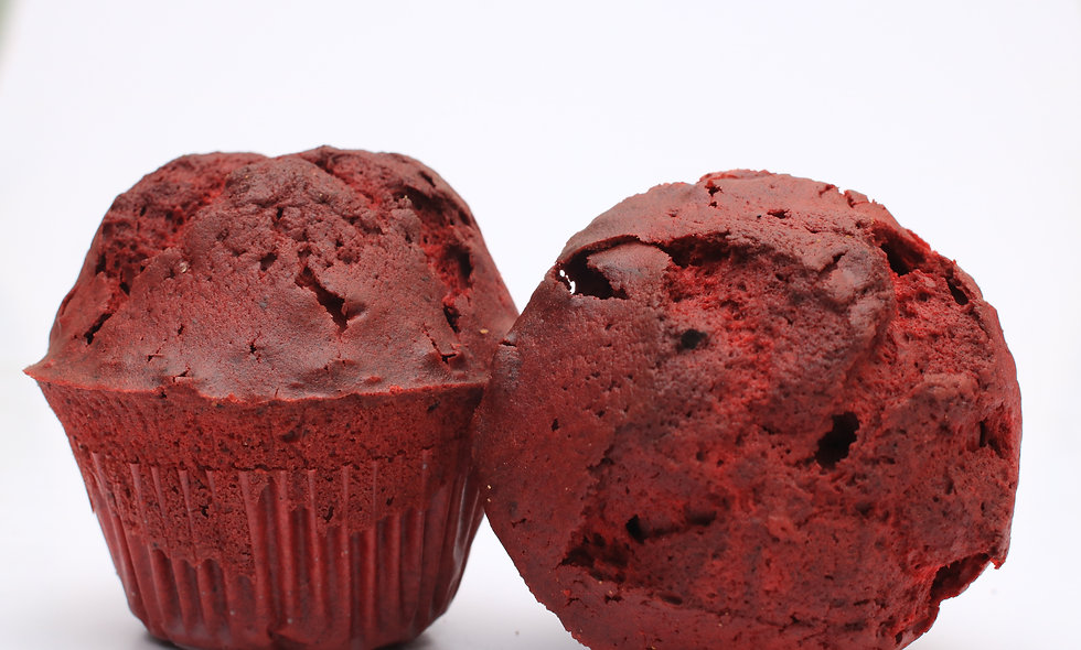 Red muffin