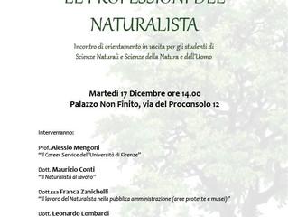 La professione del naturalista
