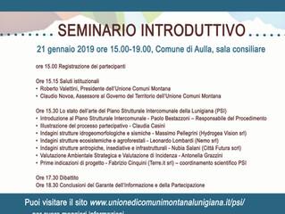 Incontri pubblici per il Piano strutturale intercomunale della Lunigiana