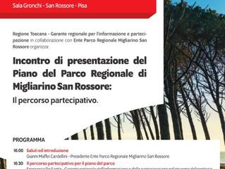 Piano integrato del Parco Regionale di Migliarino, San Rossore e Massaciuccoli inizia il percorso pa