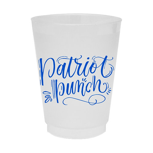 Patriot Punch Cups