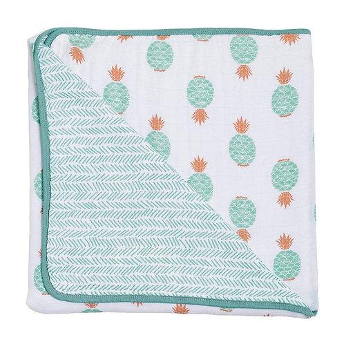 Oahu & Zig-Zag Muslin Blanket
