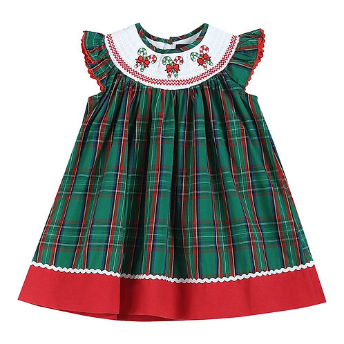 Green Candy Cane Smock