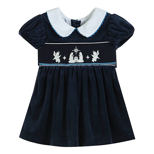 Navy Valour Nativity Dress