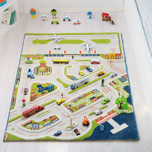 Mini City Play Rug