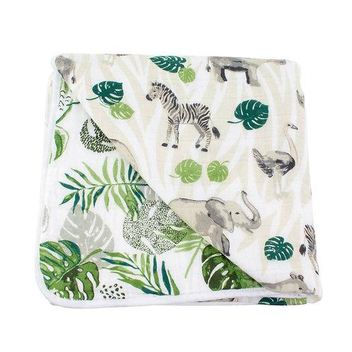 Jungle+ Rainforest Blanket
