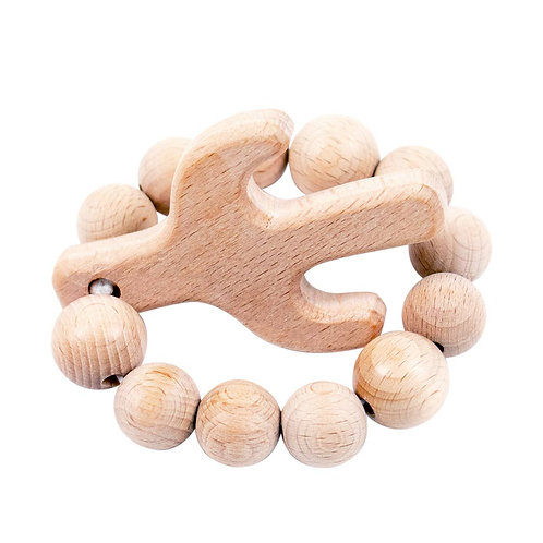Cactus Natural Wood Teether