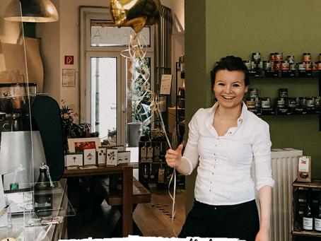 Wir feiern unseren ersten Geburtstag in Pempelfort