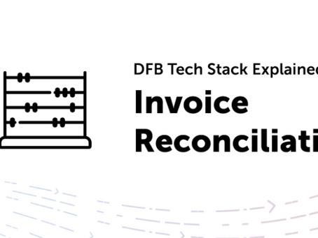 DFB Tech Stack: Invoice Reconciliation