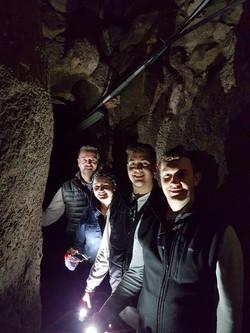 Herodian tunnel Jerusalem