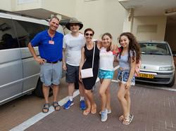 Itkin family Bat Mitzvah tour