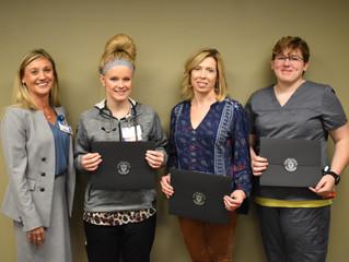 Four Registered Nurses Graduate from NARMC's Nurse Residency Program