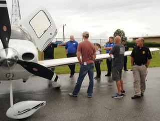 Emergency Crews Learn Aircraft Safety