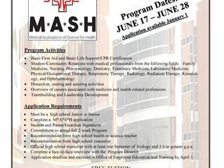 MASH Program Educates High School Students