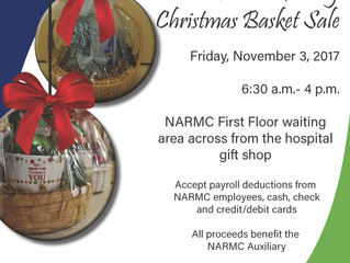 NARMC Auxiliary to Host Basket Sale