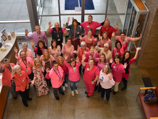 Team Sports Pink for Breast Cancer Awareness