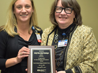 Melody Wade Retires from NARMC Lab