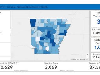 April 28 Arkansas Department of Health Update