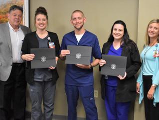Three Team Members Complete Nurse Residency Program
