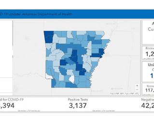 April 29 Arkansas Department of Health Update