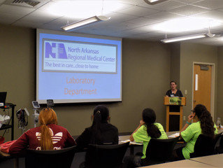 NARMC Hosts CHAMPS: Area teens learn from NARMC professionals during Community Health Action in Medi