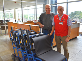 Auxiliary Purchases New User-Friendly Wheelchairs